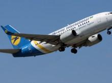 Ukraine International Boeing 737-500