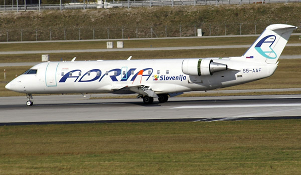 Adria Airways Bombardier CRJ200