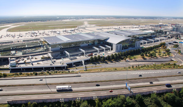 Frankfurt Airport Terminal 2 airside