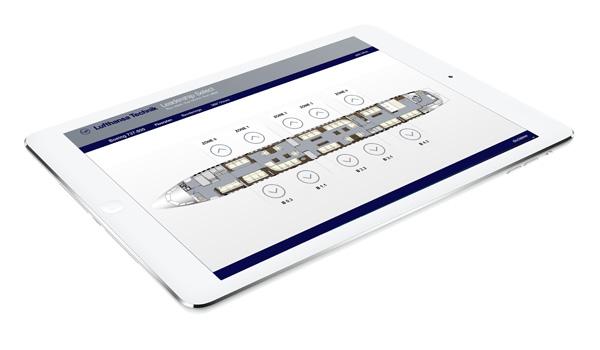 E-Configuration Tool on an iPad