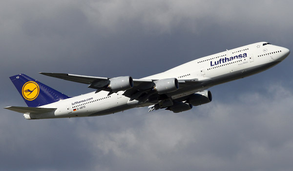Lufthansa Boeing 747-8 Intercontinental