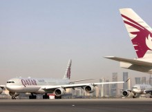 Planes of Qatar Airways