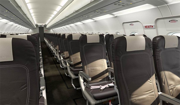 Swiss will refurbish the european Airbus fleet with new seats and cabins
