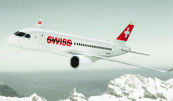 Swiss Bombardier CSeries