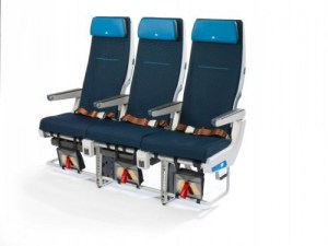 New KLM Economy seat in Boeing 777-200 (© KLM)