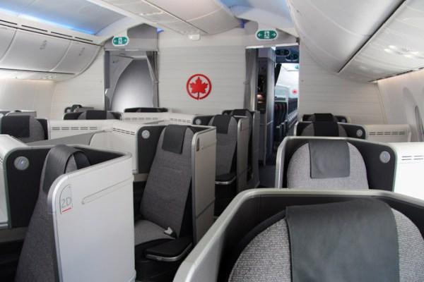 Air Canada New International Business Class (© Air Canada)