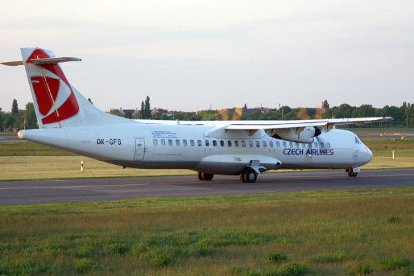 Czech Airlines ATR72 (© O. Pritzkow)