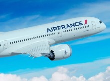 Artist impression of Air France Boeing 787