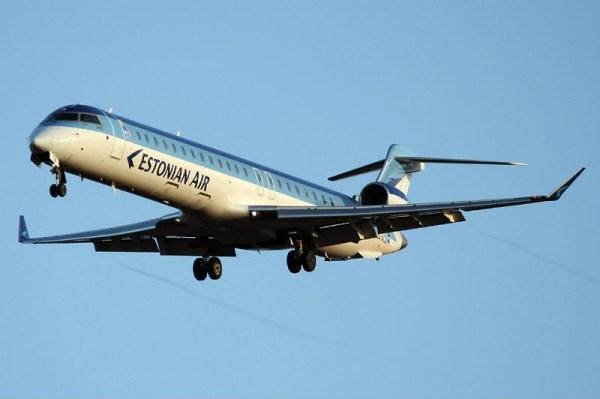 Estonian Air Bombardier CRJ900