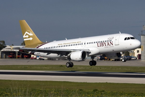 Libyan Airlines Airbus A320-200