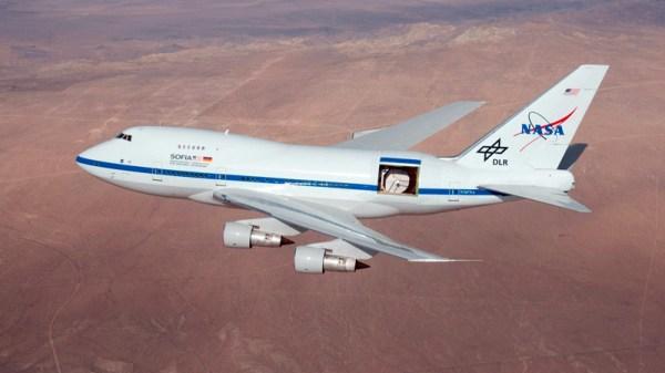 Boeing 747SP SOFIA (© DLR)