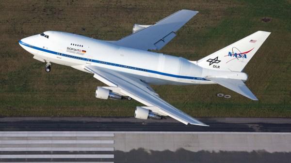 SOFIA departs from Hamburg (© DLR)