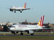 germanwings Airbus A319-100 at Berlin Tegel Airport