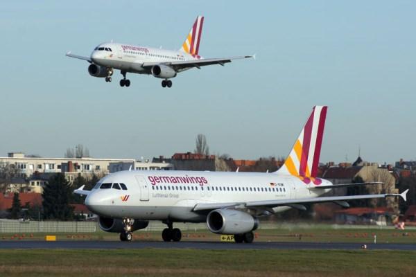 germanwings Airbus A319-100 at Berlin Tegel Airport