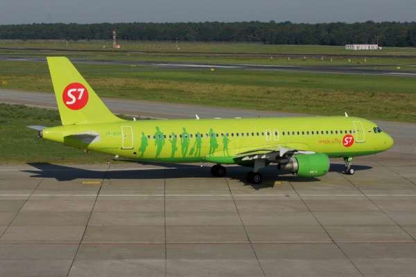 S7 Airlines Airbus A320-200