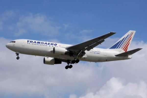 Transaero Boeing 767-200ER
