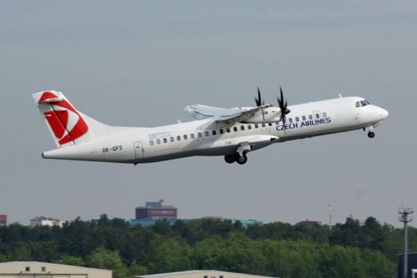 CSA Czech Airlines ATR72 (© O. Pritzkow)
