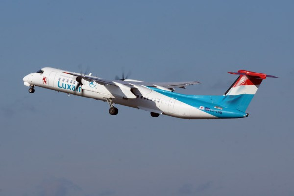 Luxair Bombardier Q400 (© O. Pritzkow)