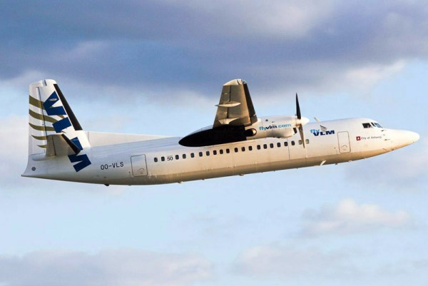 VLM Airlines Fokker 50 (© VLM)