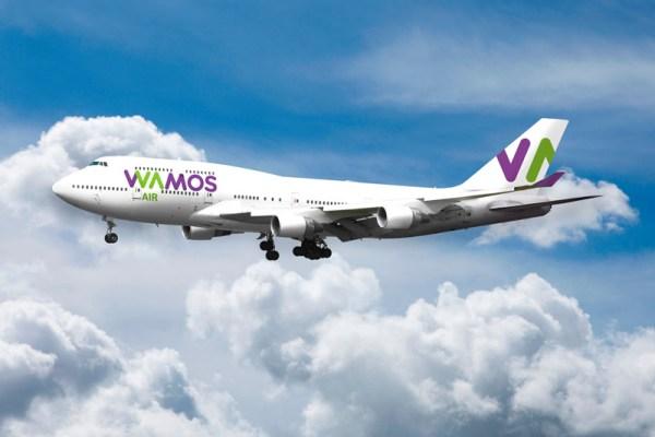 Wamos Air Boeing 747-400 (© Wamos Air)