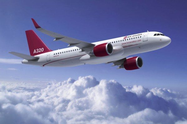 Airbus A320neo in the livery of BOC Aviation (© Airbus)