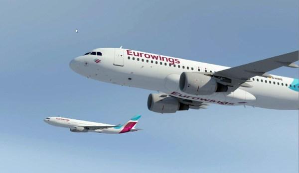 Eurowings aircrafts (© Lufthansa)