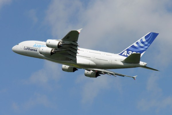 Airbus A380 (© O. Pritzkow)