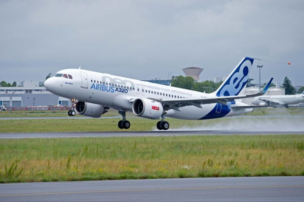 The successful maiden flight of Airbus' A320neo with CFM International LEAP-1A engines – performed 19 May 2015 – lasted 4 hours and 25 minutes