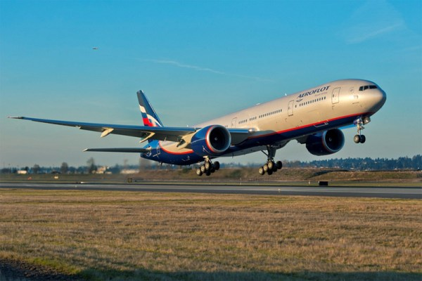 Aeroflot Boeing 777-300ER (© Aeroflot)
