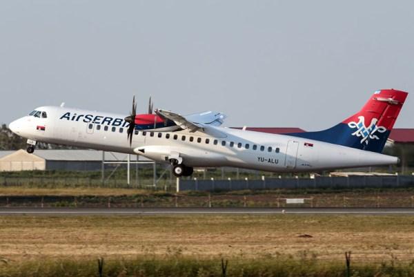 Air Serbia ATR72-500 (GFDL 1.2 D. Milinkovic)