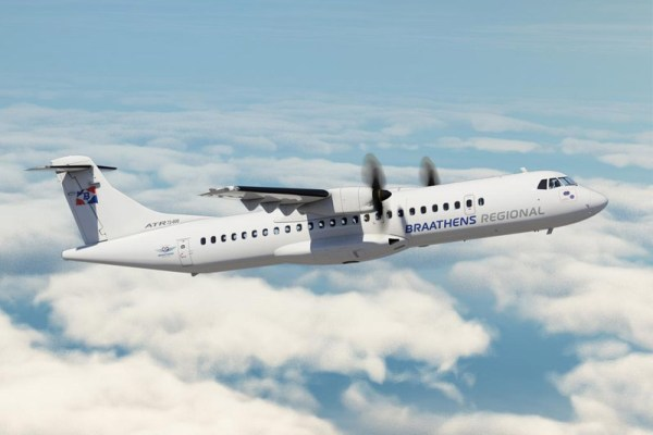 ATR72-600 in the livery of Braathens Regional (© ATR)