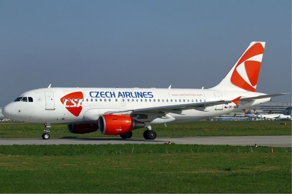 CSA Czech Airlines Airbus A319 (GFDL 1.2 K.v.Wedelstaedt)