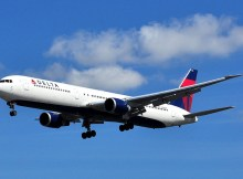 Delta Air Lines Boeing 767-400 (CC-SA 3.0 Eluveitie)