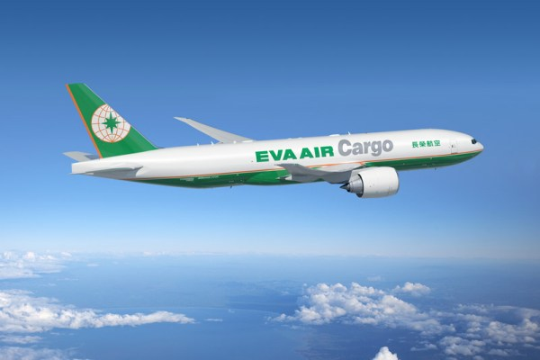 Boeing 777F in the livery of EVA Air Cargo (© Boeing)