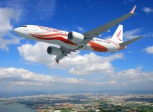 Boeing 737 MAX in the livery of Ruili Airlines (© Boeing)