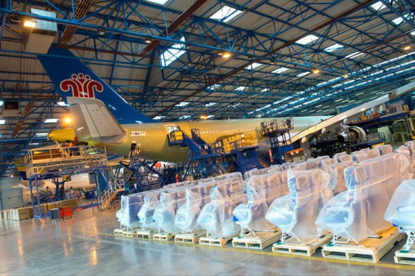 A330 completion centre at Toulouse (© Airbus)
