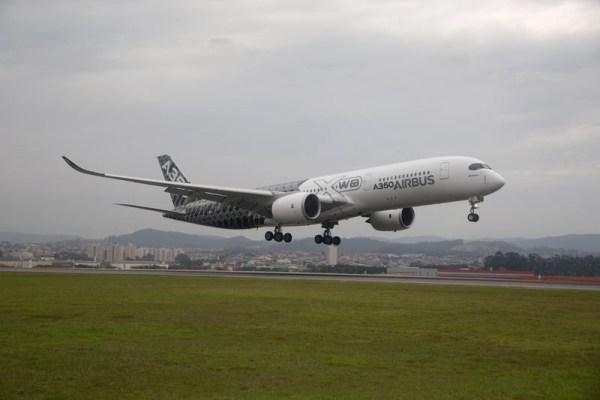 A350 XWB begins Americas Demo Tour in Sao Paulo (© Airbus)