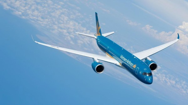 Airbus A350 XWB of Vietnam Airlines (© Airbus)