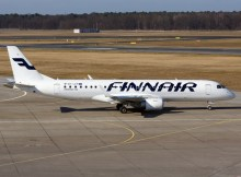 Embraer 190 der Finnair (© O. Pritzkow)
