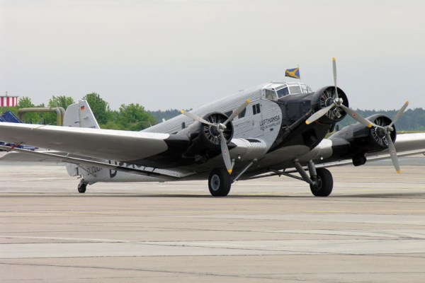 Junkers Ju52/3m der Lufthansa Stiftung (© O. Pritzkow)