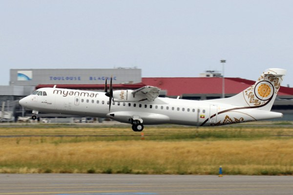 Myanmar National Airlines ATR72-600 (© ATR)