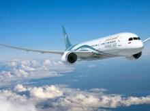 Boeing 787 Dreamliner in den Farben der Oman Air (© Boeing)