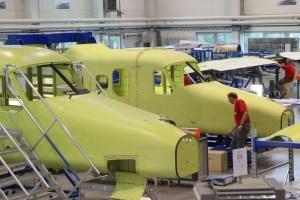 Dornier 228-Produktion bei RUAG (© RUAG)