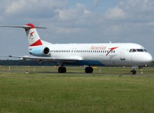 Austrian Airlines Fokker 100 (© O. Pritzkow)