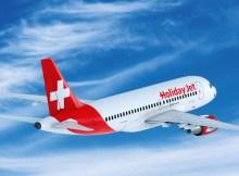Airbus A319 der Germania im Look der HolidayJet (© HolidayJet)