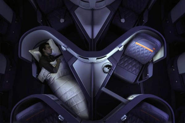 Business Class 'One' im Airbus A330-300 bei Delta (© Delta)