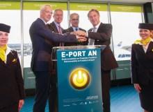 Inbetriebnahme E-Gate (© Fraport)