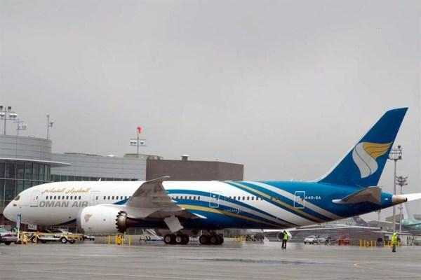 Oman Air Boeing 787-8 (© Boeing)