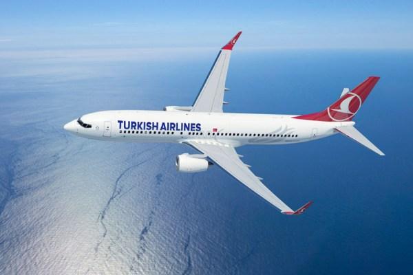 Turkish Airlines Boeing 737-800 (© Turkish)