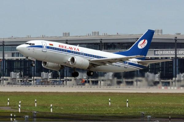 Belavia Boeing 737-500 (© O. Pritzkow)